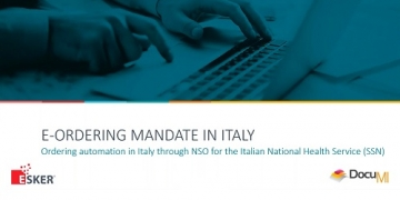 E-Ordering in Italy