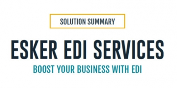 Esker EDI Services Solution Summary