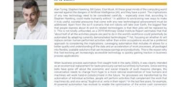 Executive Insight: Die Kombination von RPA & KI für den...
