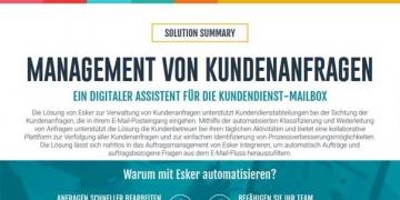 Solution Summary: Management von Kundenanfragen