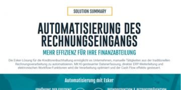 Solution Summary: Automatisierung des Rechnungseingangs