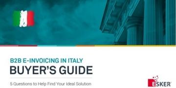 Buyer's Guide B2B E-Invoicing Italy