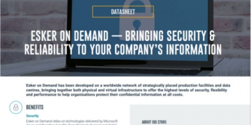 Esker on Demand: Security & Reliability