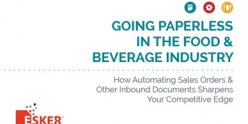Going Paperless in the Food and Beverage Industry