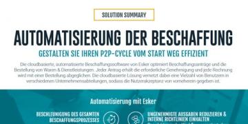 Solution Summary: Automatisierung der Beschaffung