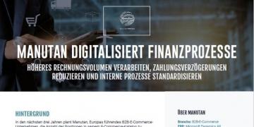 Manutan digitalisiert Finanzprozesse